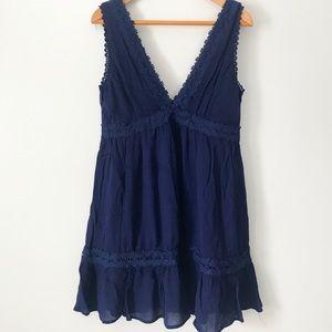 Francesca's // Deep V-neck dress